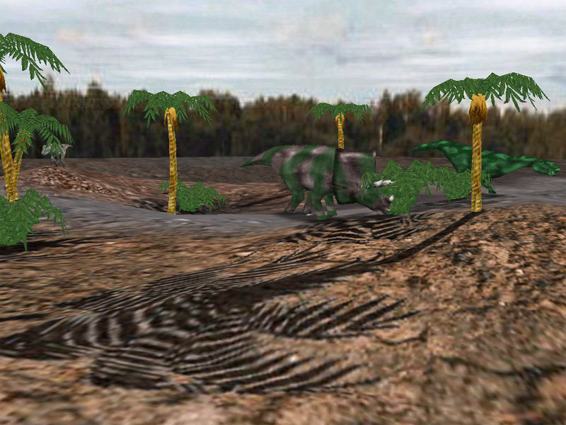 Click to view Dino Glade 1.2 screenshot