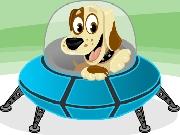 Doggy UFO. Addictive online game