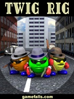 Twig Rig - New arcade great colorful game for Pocket PC